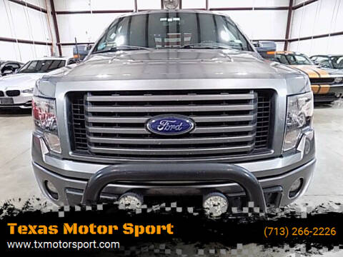 2012 Ford F-150 for sale at Texas Motor Sport in Houston TX