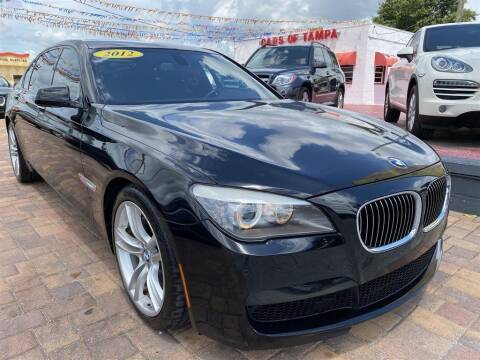 2012 BMW 7 Series for sale at Cars of Tampa in Tampa FL