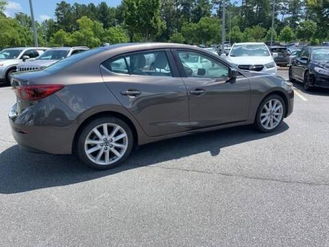 2017 Mazda MAZDA3 for sale at CU Carfinders in Norcross GA