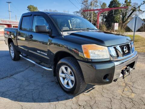 2008 Nissan Titan for sale at GA Auto IMPORTS  LLC in Buford GA