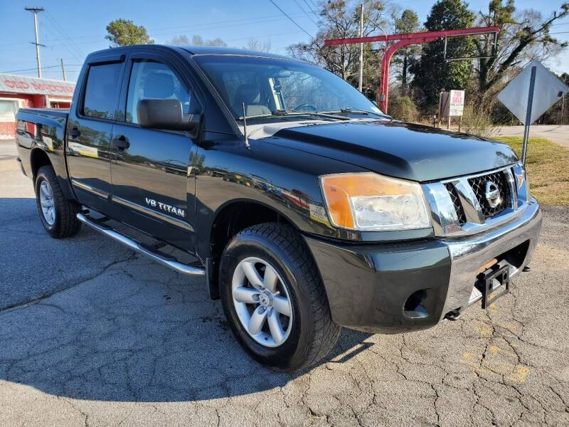 2008 Nissan Titan for sale at GA Auto IMPORTS  LLC in Buford GA