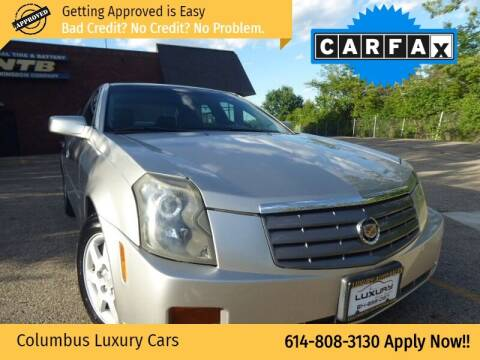 2006 Cadillac CTS for sale at Columbus Luxury Cars in Columbus OH