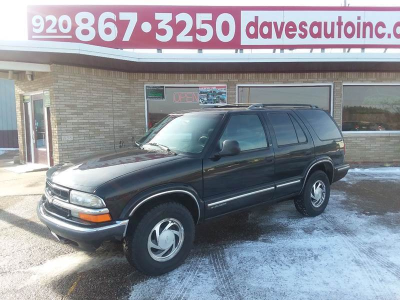 1998 Chevrolet Blazer for sale at Dave's Auto Sales & Service in Weyauwega WI