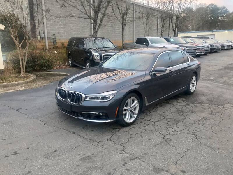2016 BMW 7 Series for sale at Five Brothers Auto Sales in Roswell GA