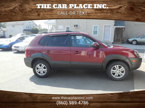 2007 Hyundai Tucson for sale at THE CAR PLACE INC. in Somersville CT