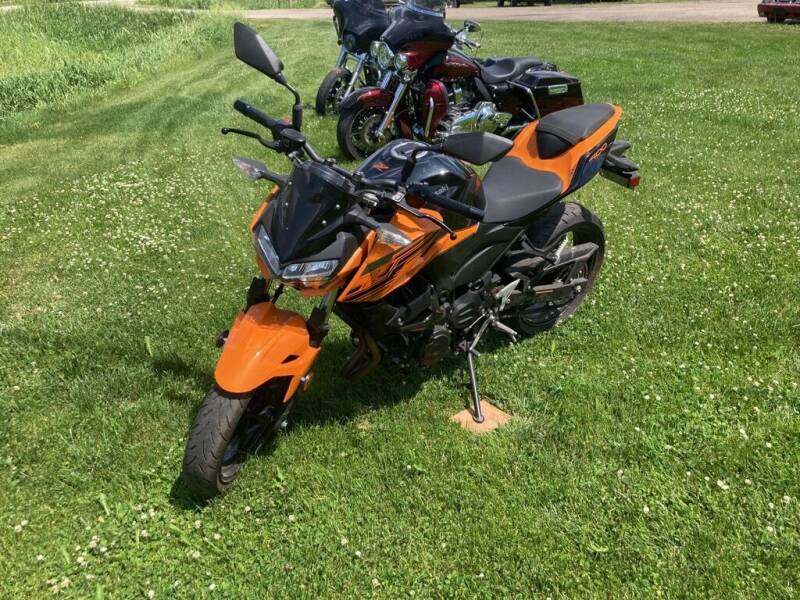 2020 Kawasaki Z400 for sale at COUNTRYSIDE AUTO INC in Austin MN