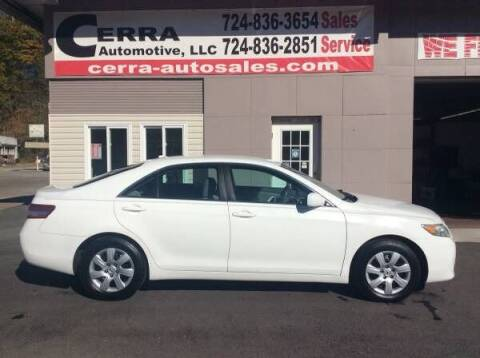 2010 Toyota Camry for sale at Cerra Automotive LLC in Greensburg PA