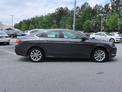 2015 Chrysler 200 for sale at Southern Auto Solutions - BMW of South Atlanta in Marietta GA