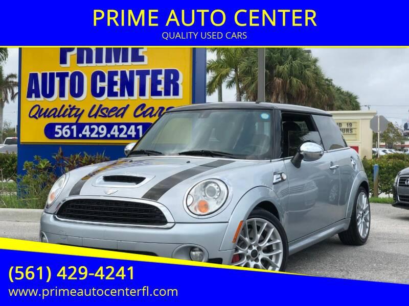 2009 MINI Cooper for sale at PRIME AUTO CENTER in Palm Springs FL