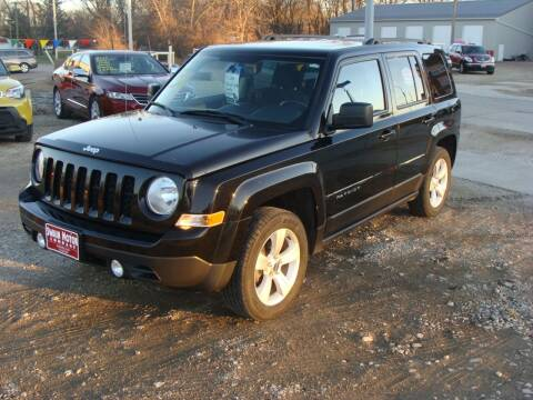 2014 Jeep Patriot for sale at Swain Motor Company in Cherokee IA
