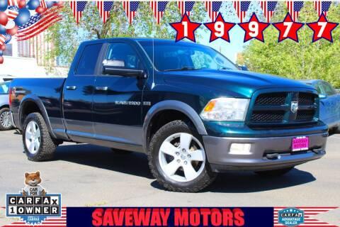 2011 RAM Ram Pickup 1500 for sale at Saveway Motors in Reno NV