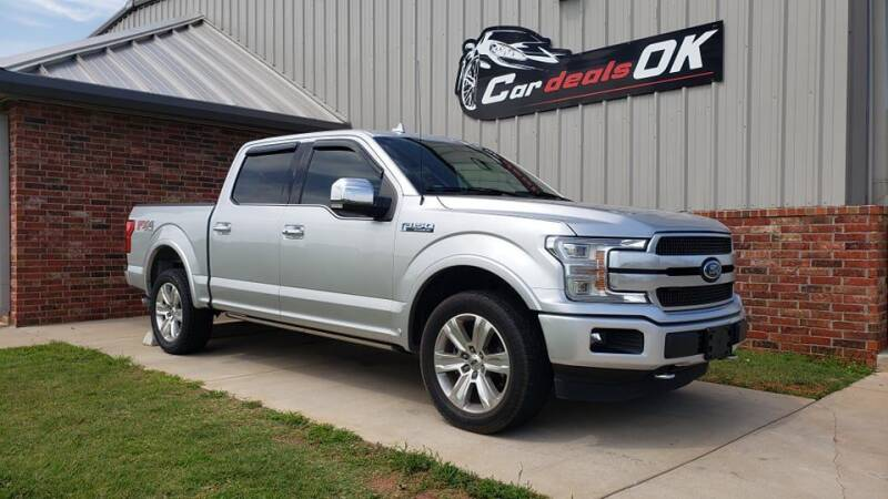 2018 Ford F-150 for sale at Car Deals OK in Oklahoma City OK