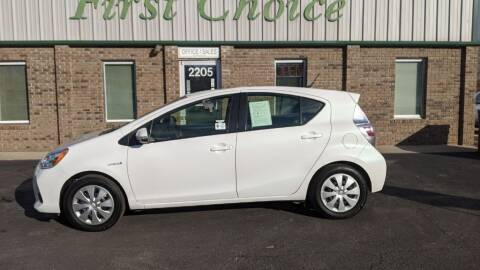 2014 Toyota Prius c for sale at First Choice Auto in Greenville SC