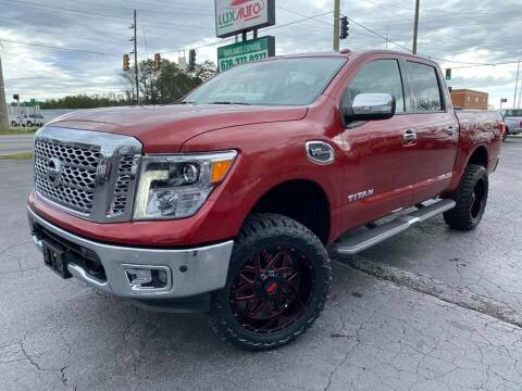 2017 Nissan Titan for sale at Lux Auto in Lawrenceville GA
