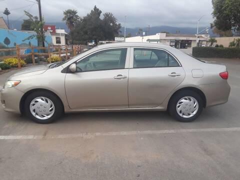 2009 Toyota Corolla for sale at Goleta Motors in Goleta CA