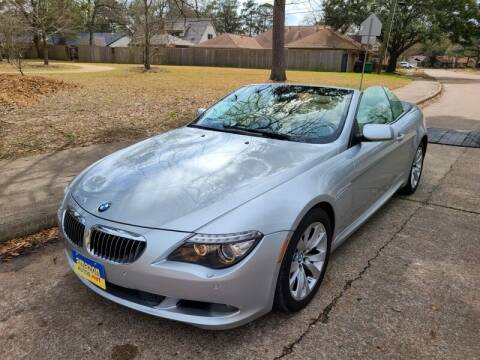 2009 BMW 6 Series for sale at Amazon Autos in Houston TX