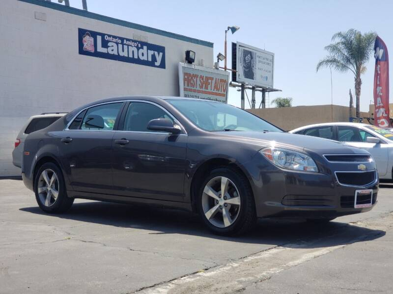 2011 Chevrolet Malibu for sale at First Shift Auto in Ontario CA