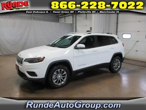 2019 Jeep Cherokee for sale at Runde PreDriven in Hazel Green WI
