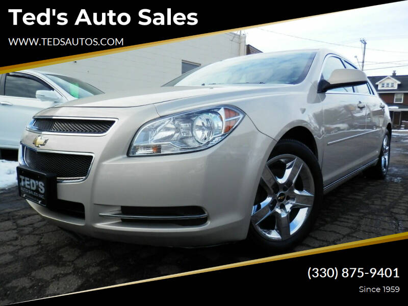 2010 Chevrolet Malibu for sale at Ted's Auto Sales in Louisville OH