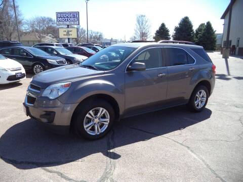 2012 Chevrolet Equinox for sale at Budget Motors - Budget Acceptance in Sioux City IA