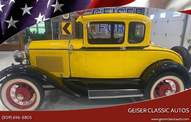 1930 Ford Model A for sale at Geiser Classic Autos in Roanoke IL