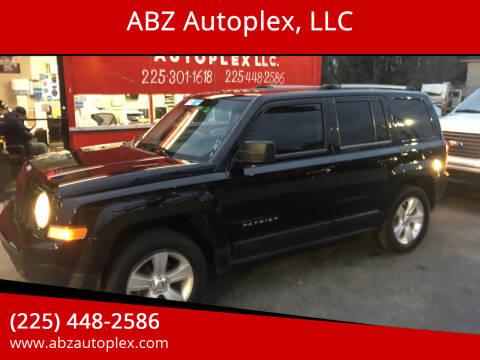 2012 Jeep Patriot for sale at ABZ Autoplex, LLC in Baton Rouge LA
