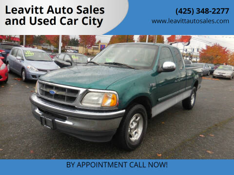 1997 Ford F-150 for sale at Leavitt Auto Sales and Used Car City in Everett WA