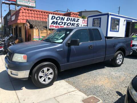 2004 Ford F-150 for sale at DON DIAZ MOTORS in San Diego CA