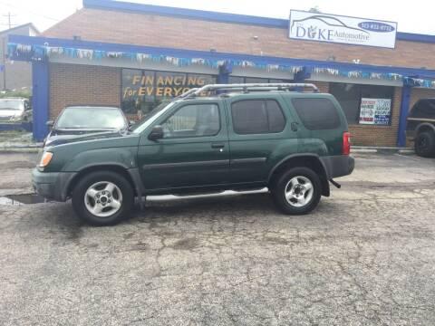 2001 Nissan Xterra for sale at Duke Automotive Group in Cincinnati OH