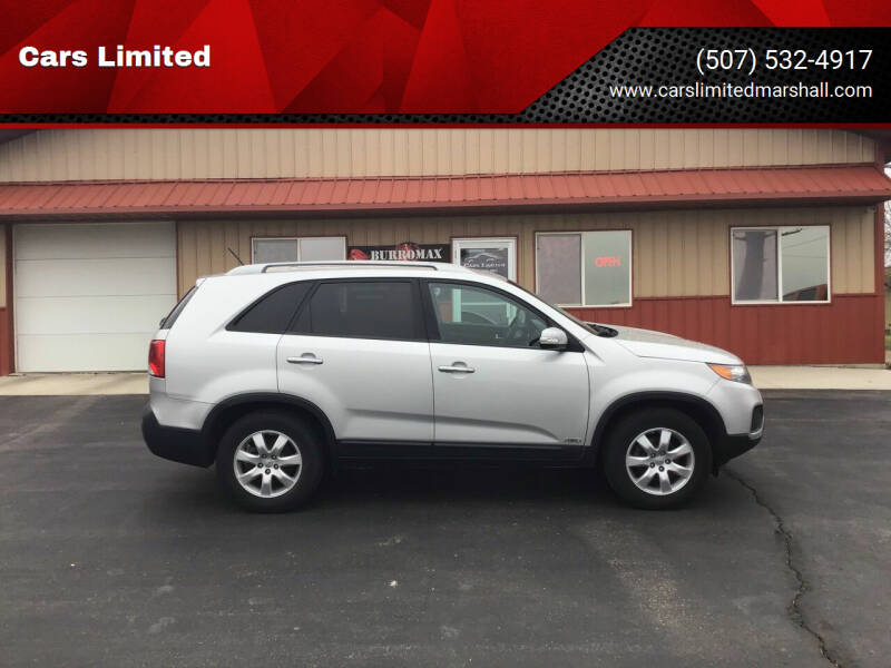 2013 Kia Sorento for sale at Cars Limited in Marshall MN