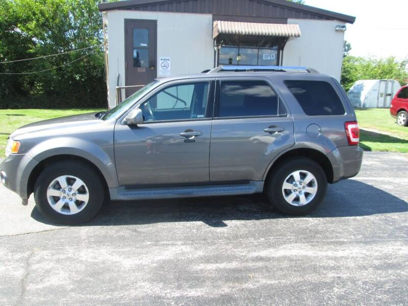 2011 Ford Escape for sale at Knauff & Sons Motor Sales in New Vienna OH