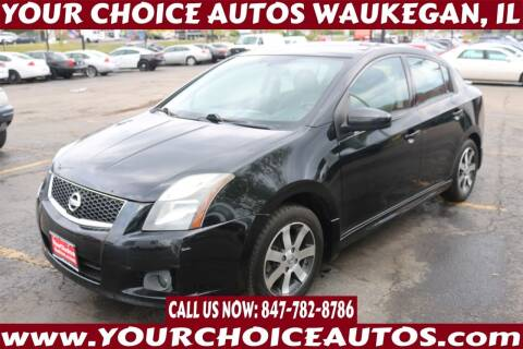 2012 Nissan Sentra for sale at Your Choice Autos - Waukegan in Waukegan IL