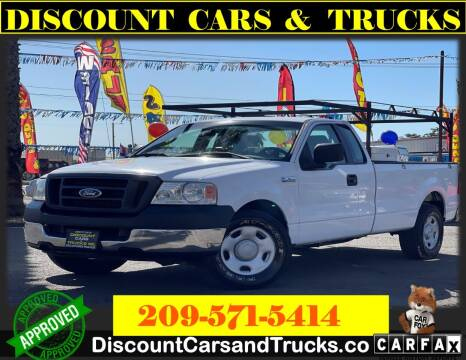 2005 Ford F-150 for sale at Discount Cars & Trucks in Modesto CA