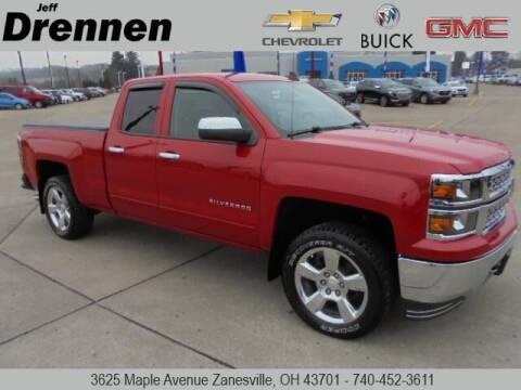 2015 Chevrolet Silverado 1500 for sale at Jeff Drennen GM Superstore in Zanesville OH