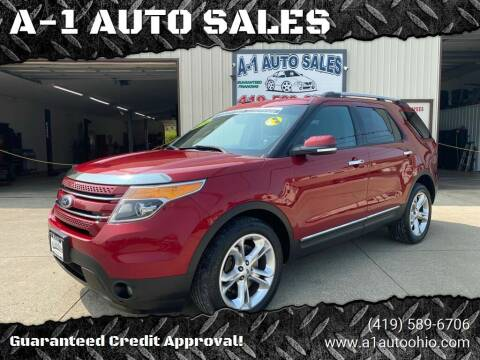 2014 Ford Explorer for sale at A-1 AUTO SALES in Mansfield OH