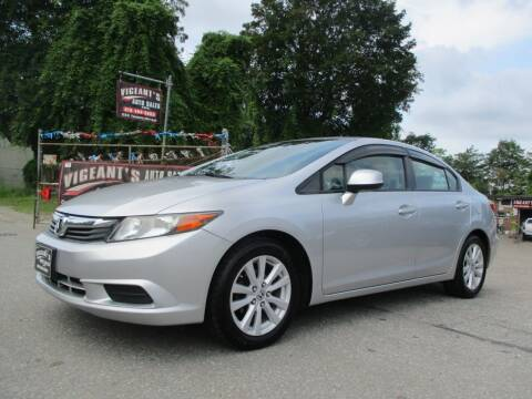 2012 Honda Civic for sale at Vigeants Auto Sales Inc in Lowell MA