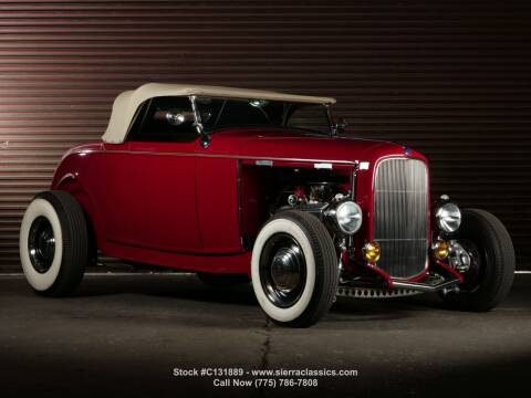 1932 Ford Roadster for sale at Sierra Classics & Imports in Reno NV