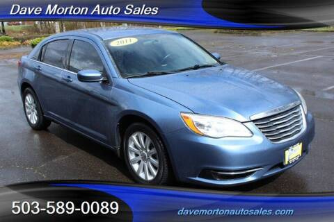 2011 Chrysler 200 for sale at Dave Morton Auto Sales in Salem OR