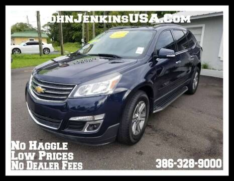 2017 Chevrolet Traverse for sale at JOHN JENKINS INC in Palatka FL