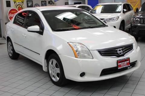 2012 Nissan Sentra for sale at Windy City Motors in Chicago IL