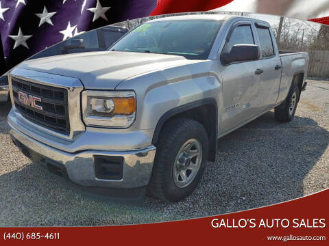 2014 GMC Sierra 1500 for sale at Gallo's Auto Sales in North Bloomfield OH
