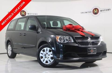 2014 Dodge Grand Caravan for sale at INDY'S UNLIMITED MOTORS - UNLIMITED MOTORS in Westfield IN