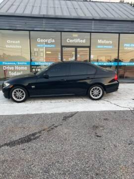2010 BMW 3 Series for sale at Georgia Certified Motors in Stockbridge GA