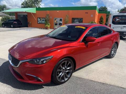 2016 Mazda MAZDA6 for sale at Galaxy Auto Service, Inc. in Orlando FL