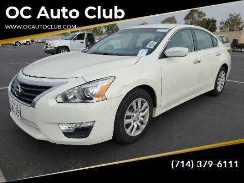 2014 Nissan Altima for sale at OC Auto Club in Midway City CA