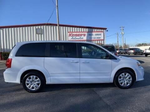 2016 Dodge Grand Caravan for sale at Keisers Automotive in Camp Hill PA
