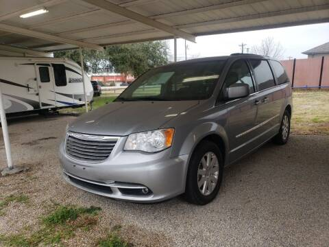 2015 Chrysler Town and Country for sale at HAYNES AUTO SALES in Weatherford TX