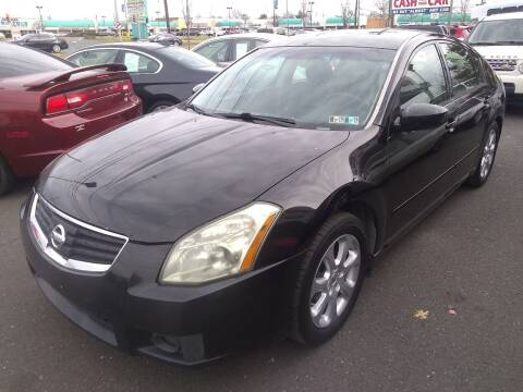 2008 Nissan Maxima for sale at Wilson Investments LLC in Ewing NJ