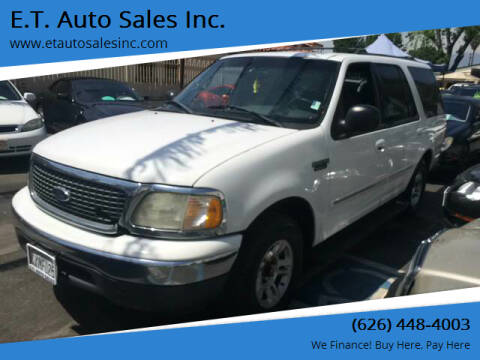 2002 Ford Expedition for sale at E.T. Auto Sales Inc. in El Monte CA