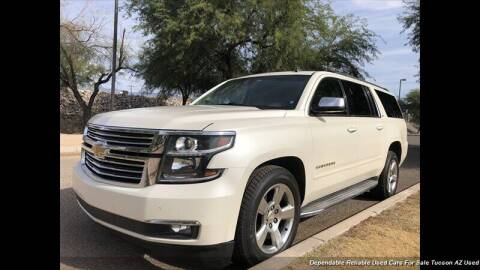 2015 Chevrolet Suburban for sale at Noble Motors in Tucson AZ